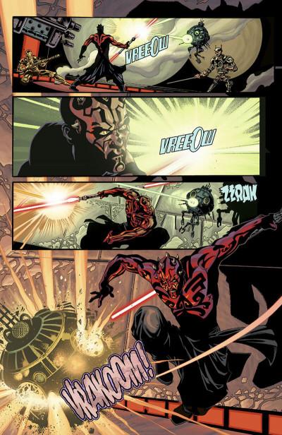 Page 8 star wars - le cote obscur tome 2 - dark maul