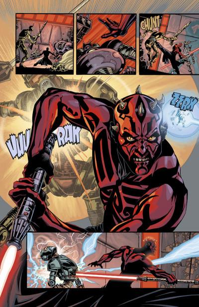 Page 9 star wars - le cote obscur tome 2 - dark maul
