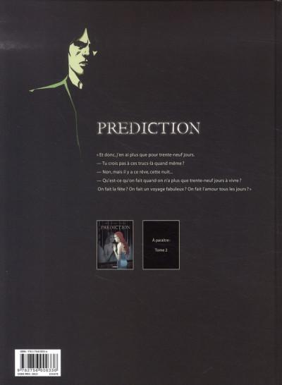 Dos prédiction tome 1 - fatale mélodie