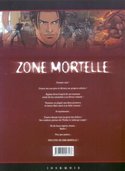Dos zone mortelle tome 4 - hades