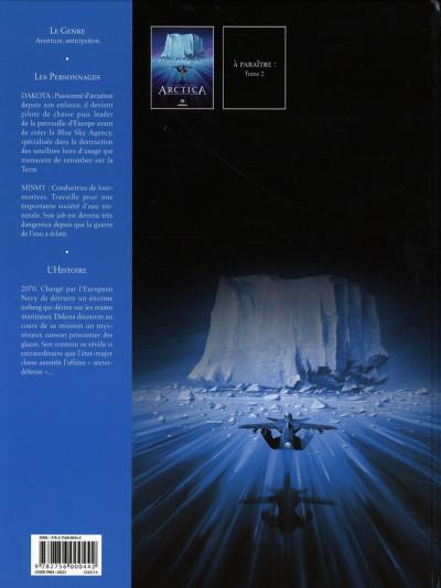 Dos arctica tome 1 - dix mille ans sous les glaces