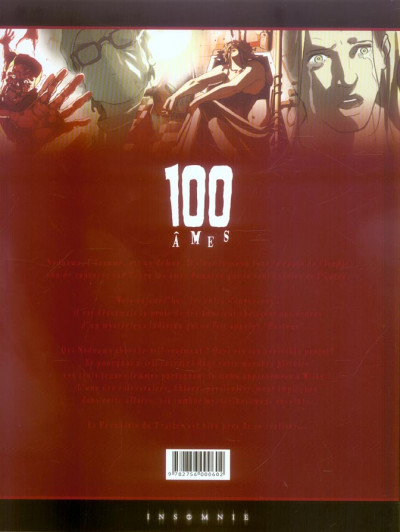 Dos 100 âmes tome 2 - victimes