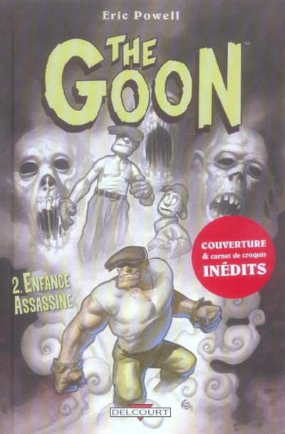 Couverture the goon tome 2 - enfance assassinée