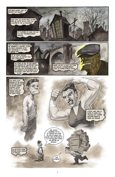 Page 1 the goon tome 2 - enfance assassinée