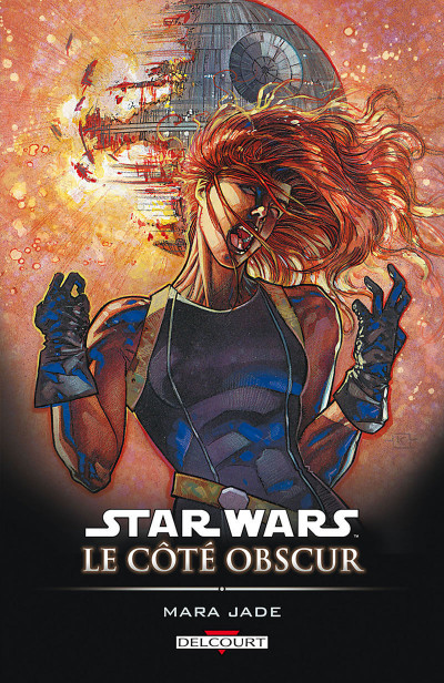 Couverture star wars - le cote obscur tome 6 - mara jade