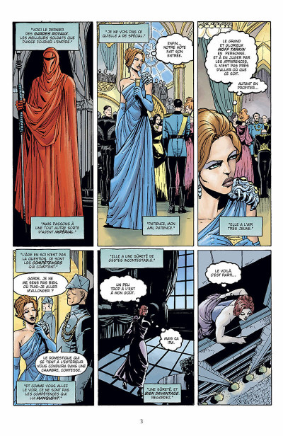 Page 4 star wars - le cote obscur tome 6 - mara jade
