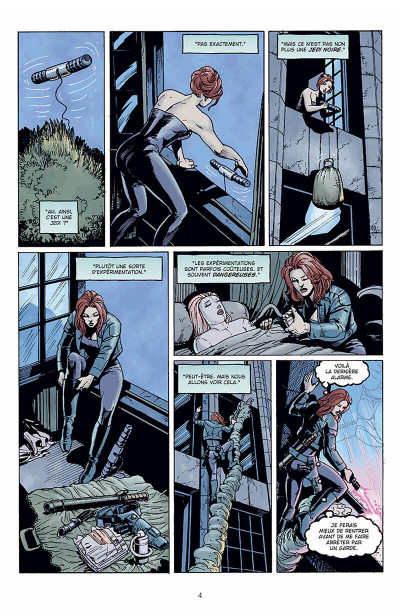 Page 5 star wars - le cote obscur tome 6 - mara jade