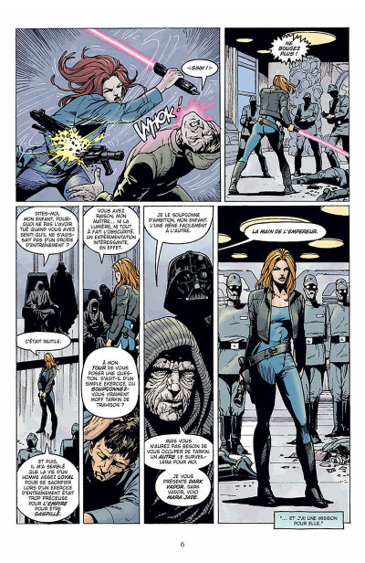 Page 7 star wars - le cote obscur tome 6 - mara jade