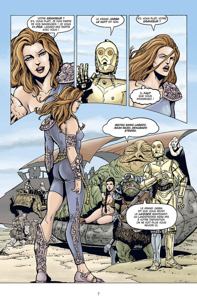 Page 8 star wars - le cote obscur tome 6 - mara jade