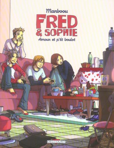 Couverture Fred et Sophie tome 2 - amour et p'tit boulot