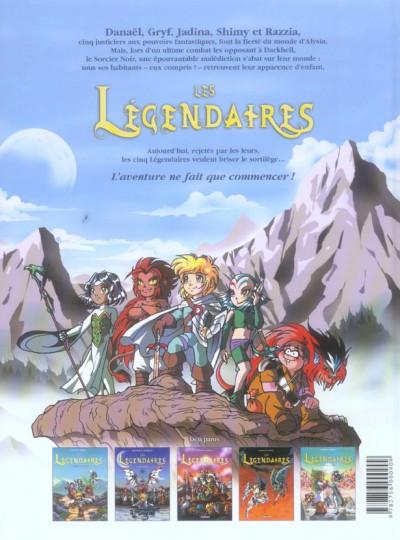 Dos Les légendaires tome 5