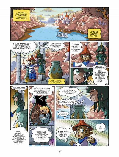 Page 6 Les légendaires tome 5