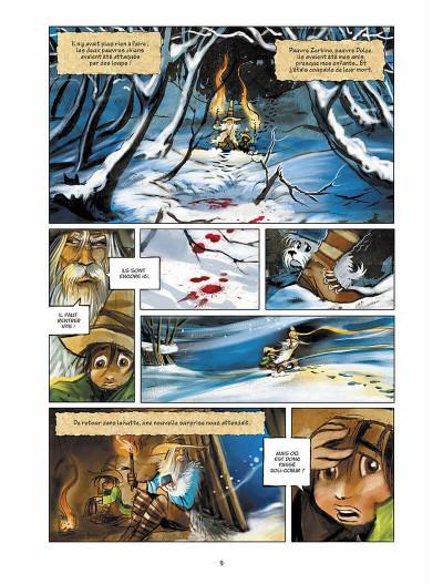Page 0 sans famille tome 4 - neige et loups