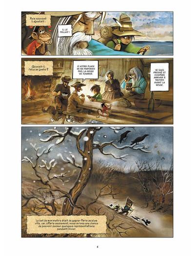 Page 5 sans famille tome 4 - neige et loups