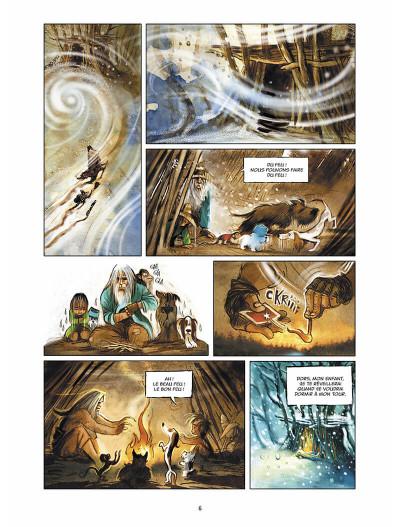 Page 7 sans famille tome 4 - neige et loups