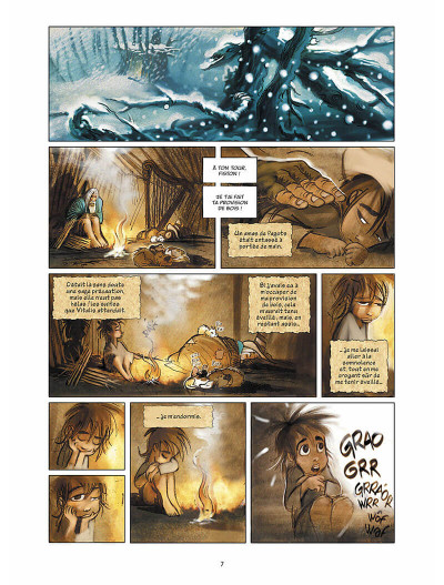 Page 8 sans famille tome 4 - neige et loups
