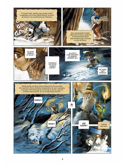 Page 9 sans famille tome 4 - neige et loups