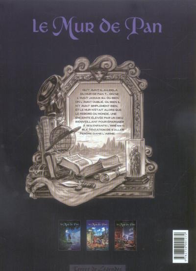 Dos le mur de pan tome 1 - mavel coeur d'élue (album)