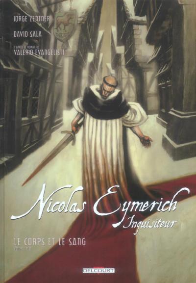 Couverture nicolas eymerich, inquisiteur tome 3 - le corps et le sang