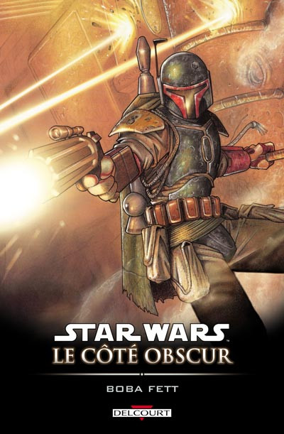 Couverture star wars - le cote obscur tome 7 - boba fett,mort et destruction