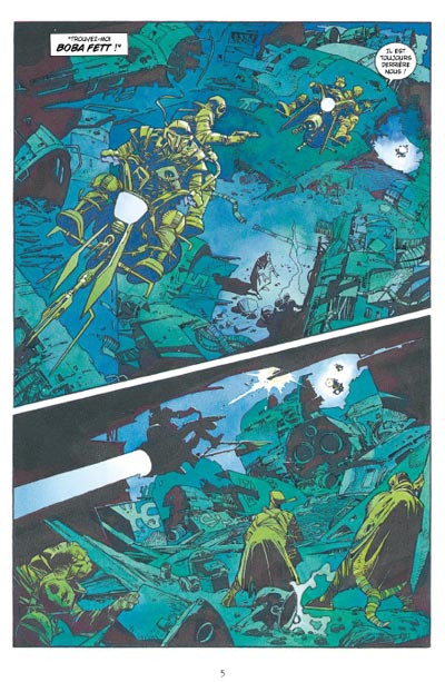 Page 1 star wars - le cote obscur tome 7 - boba fett,mort et destruction