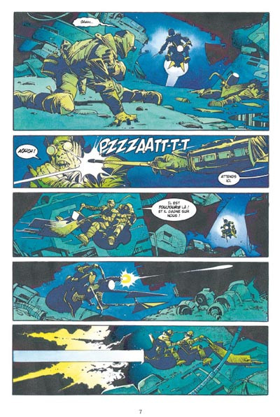 Page 3 star wars - le cote obscur tome 7 - boba fett,mort et destruction