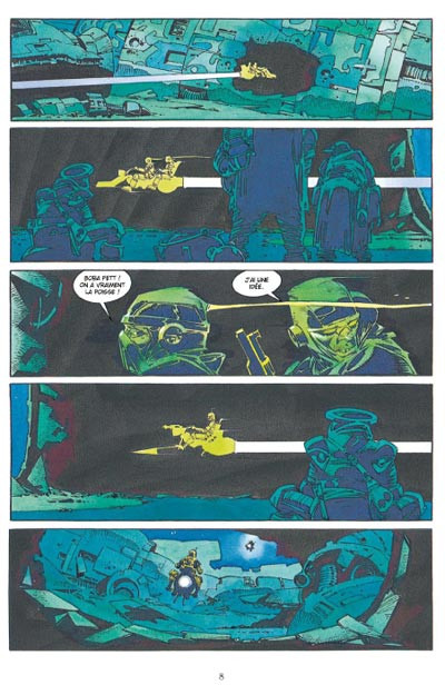 Page 4 star wars - le cote obscur tome 7 - boba fett,mort et destruction