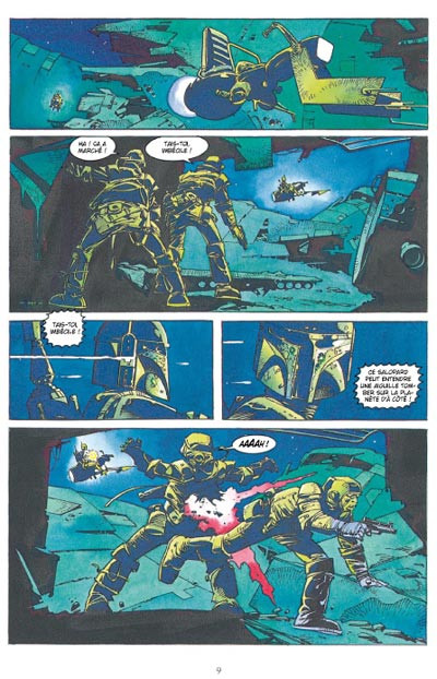 Page 5 star wars - le cote obscur tome 7 - boba fett,mort et destruction