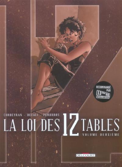 Couverture la loi des 12 tables tome 2 - loi des xii tables