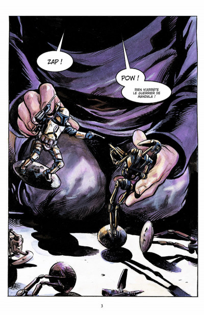 Page 4 star wars - le côté obscur tome 1 - jango fett & zam wesell