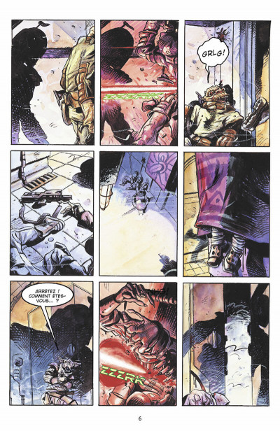 Page 7 star wars - le côté obscur tome 1 - jango fett & zam wesell