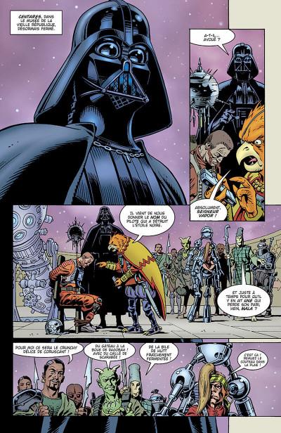 Page 5 star wars - le côté obscur tome 3 - la quête de vador