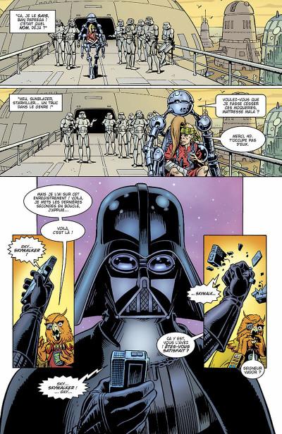 Page 6 star wars - le côté obscur tome 3 - la quête de vador
