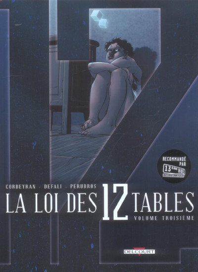 image de la loi des 12 tables tome 3 - loi des xii tables