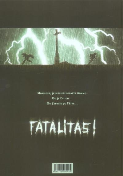 Dos chéri-bibi tome 1 - fatalitas