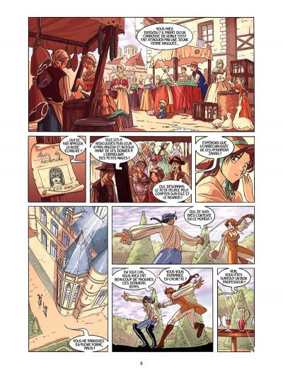 Page 5 La rose écarlate tome 2