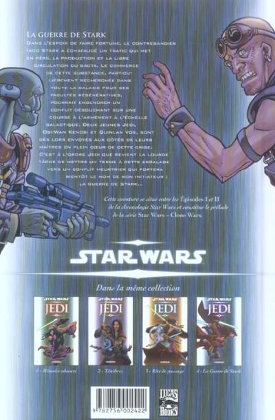 Dos star wars - jedi tome 4 - la guerre de stark