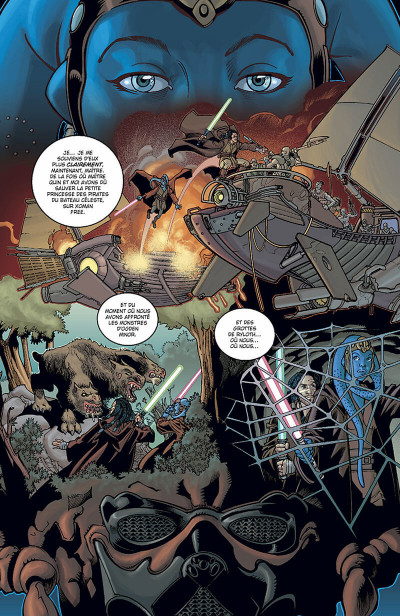 Page 4 star wars - jedi tome 4 - la guerre de stark