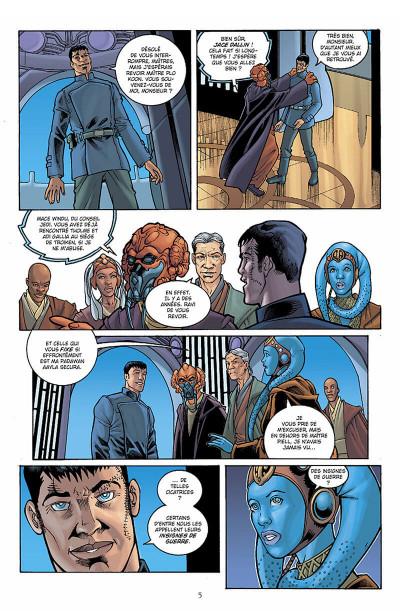 Page 6 star wars - jedi tome 4 - la guerre de stark