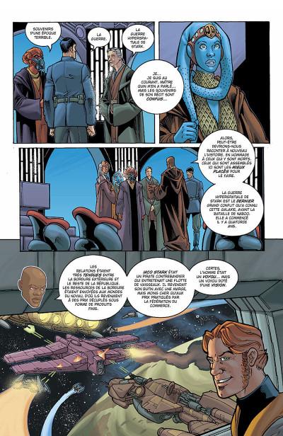 Page 7 star wars - jedi tome 4 - la guerre de stark