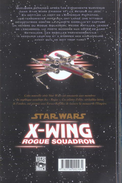 Dos star wars - x-wing rogue squadron tome 1 - rogue leader