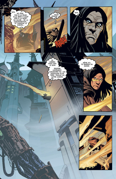 Page 5 star wars - jedi tome 1 - mémoire obscure