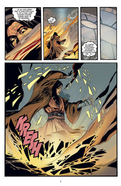 Page 6 star wars - jedi tome 1 - mémoire obscure