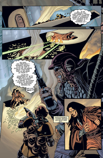 Page 7 star wars - jedi tome 1 - mémoire obscure