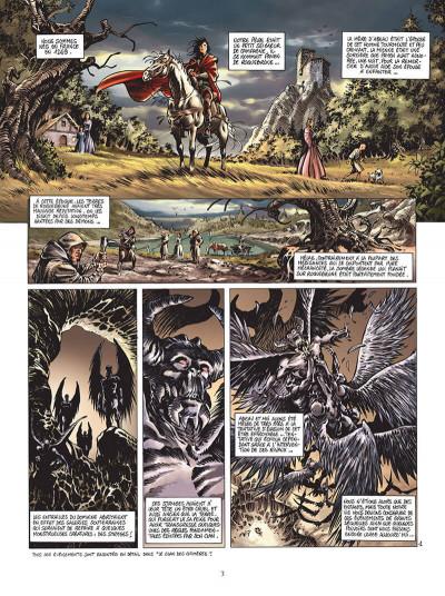 Page 4 le chant des stryges tome 10 - saison 2 - manipulations