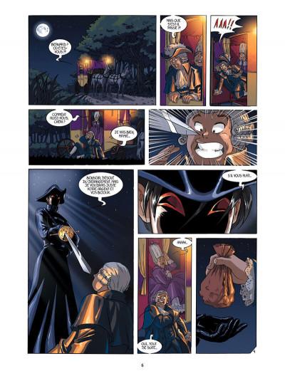 Page 5 La rose écarlate tome 1