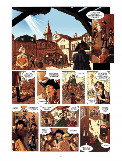 Page 7 La rose écarlate tome 1