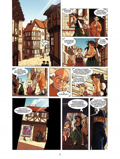 Page 8 La rose écarlate tome 1