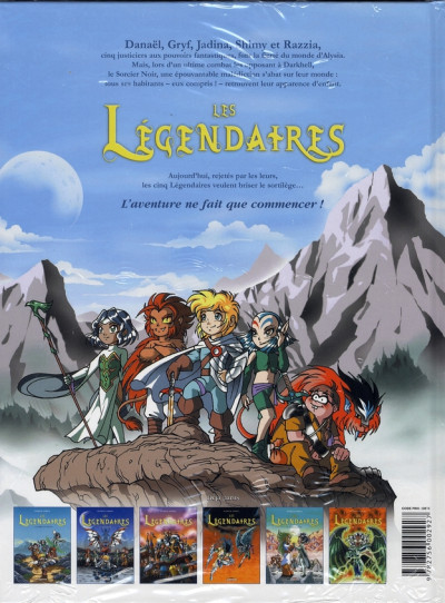 Dos Les légendaires tome 6