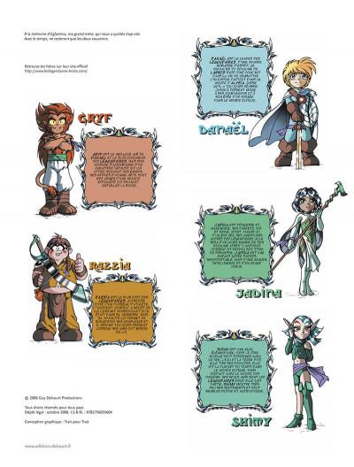 Page 3 Les légendaires tome 6